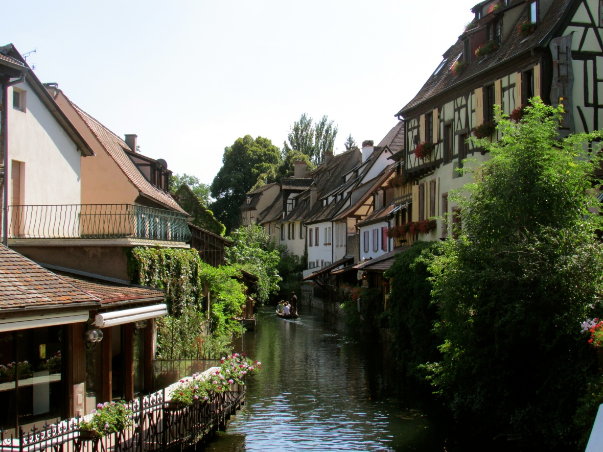 The canal the runs through Colmar