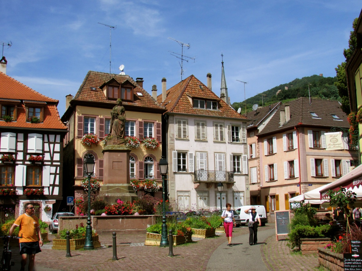 A square in Ribeauville