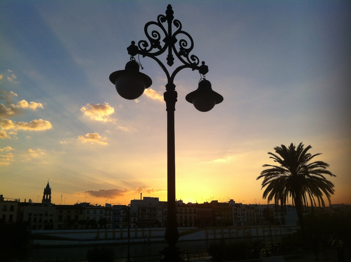 The View Today: Sunset in Sevilla