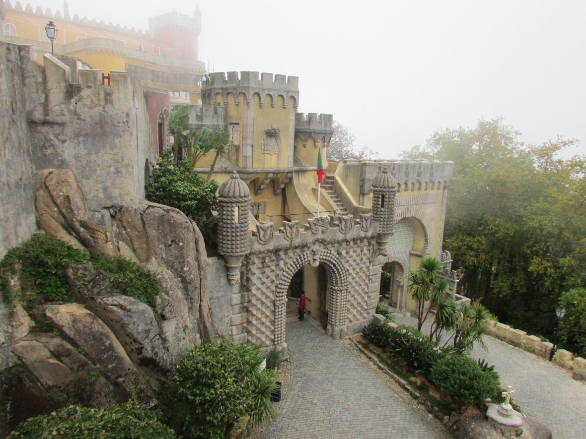 The View Today: Pena National Palace
