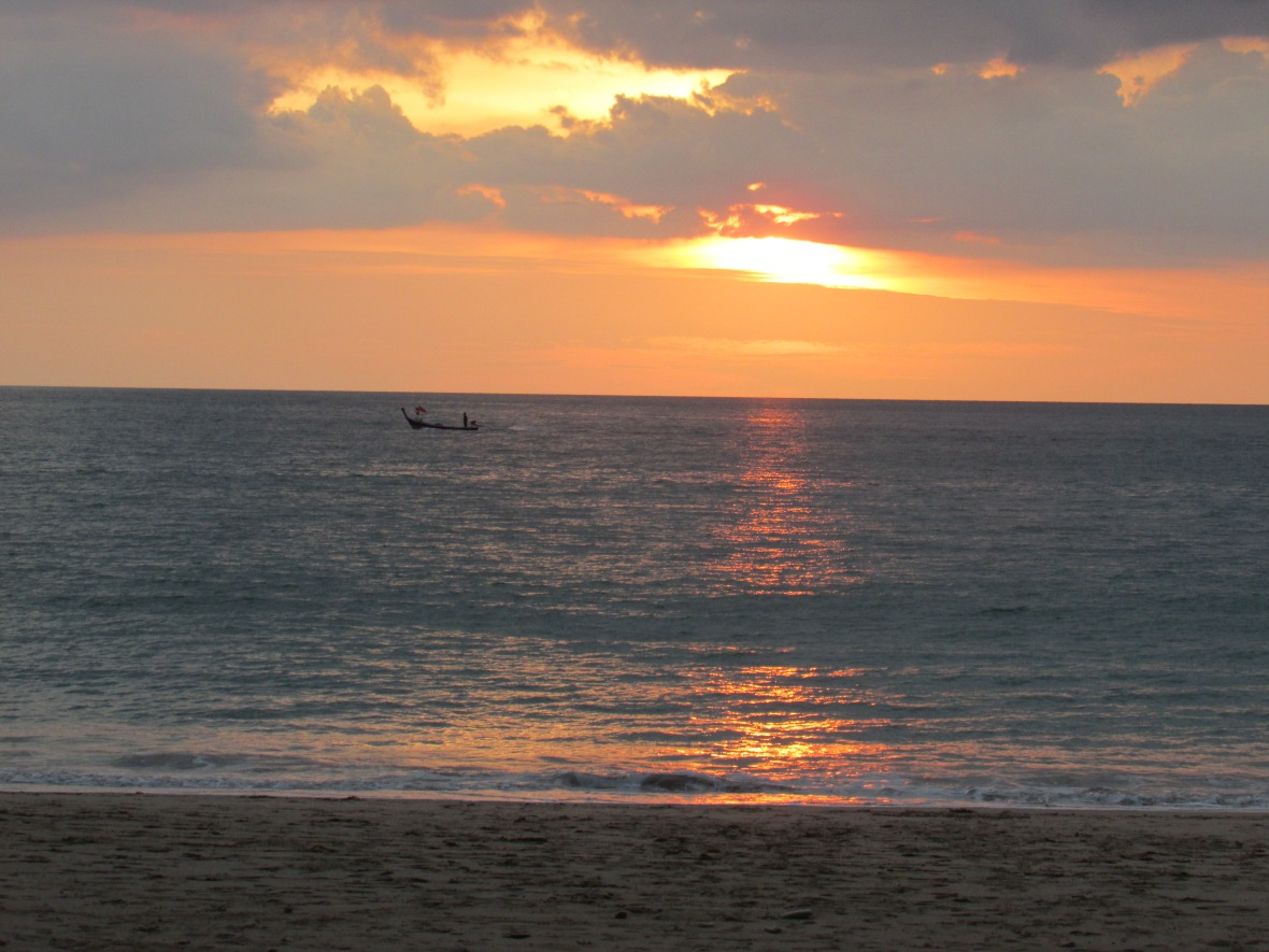 The View Today: Sunset Over Klong Dao Beach